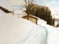 Alm im Winter